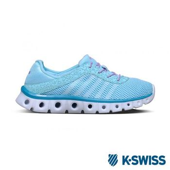 K-Swiss X Lite Athleisure CMF輕量訓練鞋-女-水藍