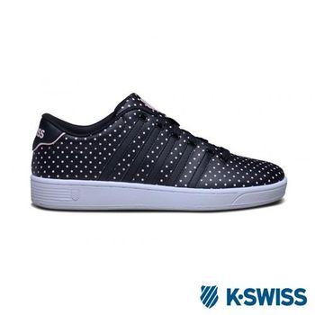 K-Swiss Court Pro II CMFDOTS運動休閒-女鞋-黑/圓點
