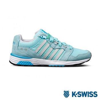 K-Swiss Si-18 Trainer II運動休閒-女鞋-水藍/綠