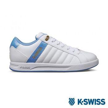 K-Swiss Lundahl WT S運動休閒-女鞋-白/藍