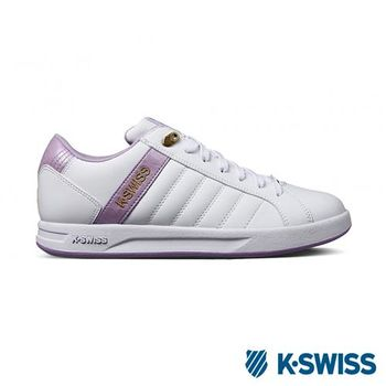 K-Swiss Lundahl WT S運動休閒-女鞋-白/淺紫