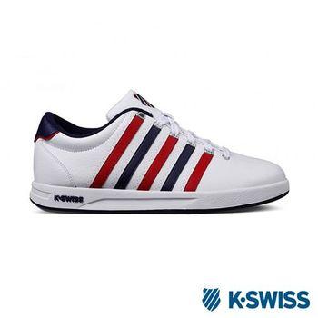 K-Swiss Court Pro S CMF運動休閒-男鞋-白/藍/紅