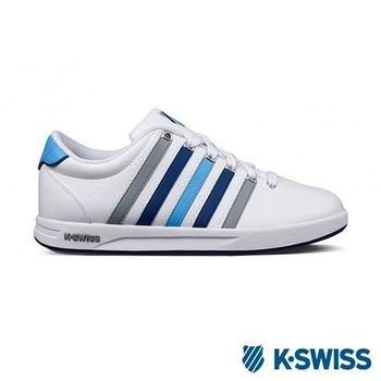 K-Swiss Court Pro S CMF運動休閒--男鞋-白/藍