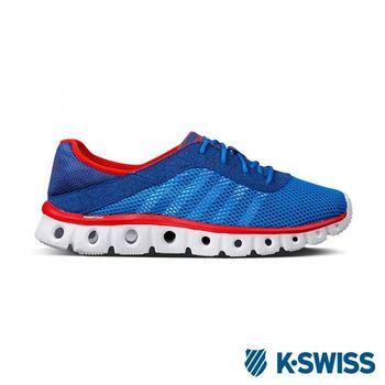 K-Swiss X Lite Athleisure CMF輕量訓練鞋-男-寶藍/紅