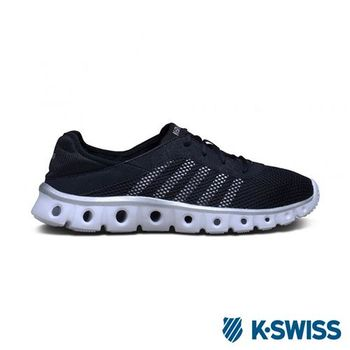 K-Swiss X Lite Athleisure CMF輕量訓練鞋-男-黑/銀