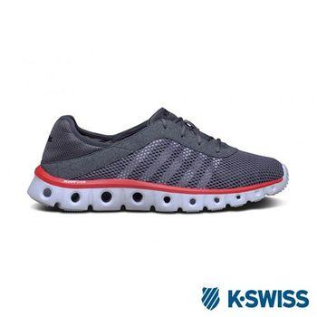 K-Swiss X Lite Athleisure CMF輕量訓練鞋-男-炭灰/紅