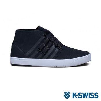 K-Swiss D R Cinch Chukka摩登休閒鞋-男-黑