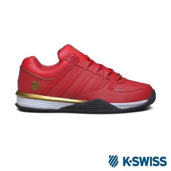 K-Swiss Baxer休閒運動鞋-男-紅