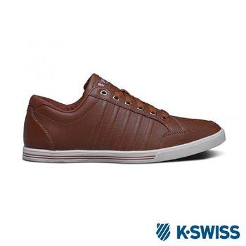 K-Swiss Set Court美式休閒鞋-男-咖啡