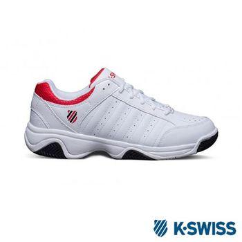 K-Swiss Grancourt III網球運動鞋基本款-男-白/紅