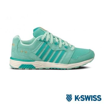 K-Swiss SI-18 Rannell經典休閒鞋-女-藍綠/青綠