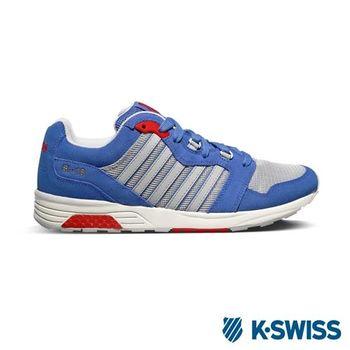 K-Swiss SI-18 Rannell經典休閒鞋-男-藍/淺灰