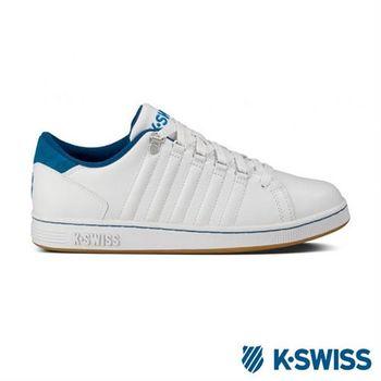 K-Swiss Lozan III經典休閒鞋-男-白/藍