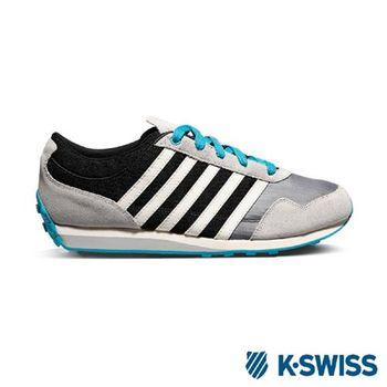 K-Swiss Gorzell III 功能性撞色休閒鞋-男-黑/灰