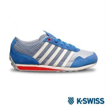 K-SWISS Gorzell III 功能性撞色休閒鞋-男 - 藍/椒紅