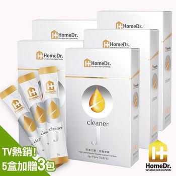 (即期良品)Home Dr. cleanerJ克膩J金針菇健康窈窕粉劑5入再送3包(共73包)