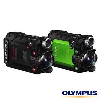 送副廠電池+座充+清潔組+保護貼~ OLYMPUS TG Tracker 防水 潛水 浮潛 相機(公司貨)