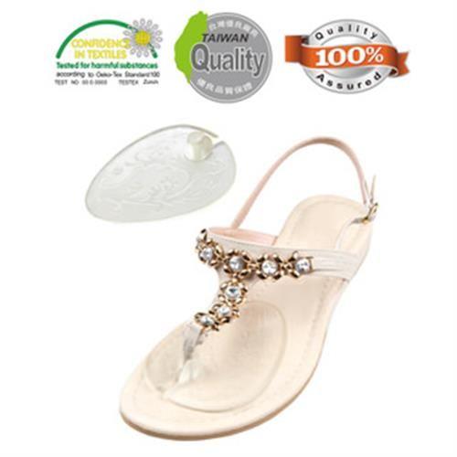 【關愛天使】夾腳型軟凝膠墊(適用夾腳涼鞋/高跟鞋/防滑)