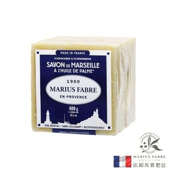 任-法國法鉑棕櫚油經典馬賽皂/400g