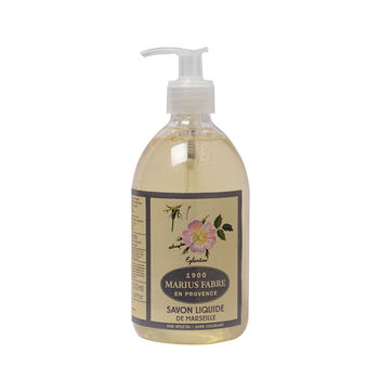 法國法鉑天然草本野玫瑰液體皂/500ml