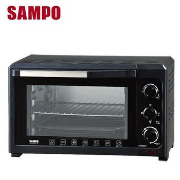【SAMPO聲寶】 23公升油切旋風電烤箱(KZ-PB23C)