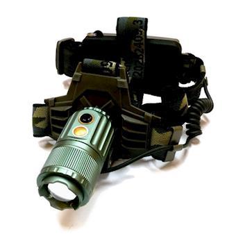 【TrueLight】CREE T6 LED巡弋野戰變焦頭燈(W0099-P)