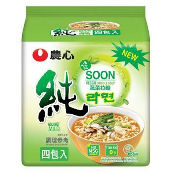 【農心】蔬菜拉麵(112gX4包/8組)
