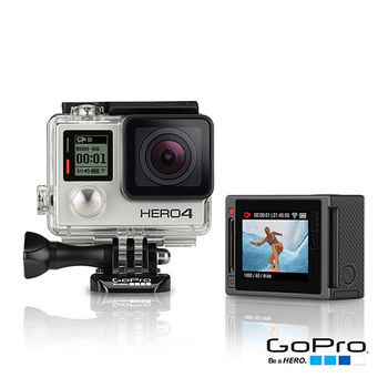 【GoPro】HERO4 銀色觸控進階版CHDHY-401(公司貨)
