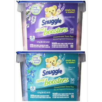 【美國 Snuggle】衣物柔軟芳香球-薰衣草香+鳶尾花香(1120g/56顆)*2