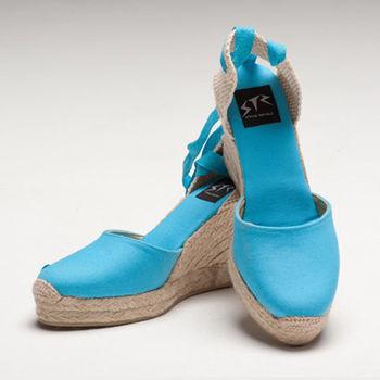 【BSIDED女鞋】Bsided ARCHIBALD HEEL LIGHT BLUE楔型鞋(天藍)