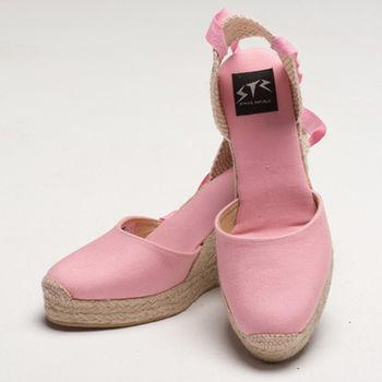 【BSIDED女鞋】Bsided ARCHIBALD HEEL PINK楔型鞋(粉)