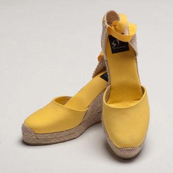 【BSIDED女鞋】Bsided ARCHIBALD HEEL YELLOW楔型鞋(黃)