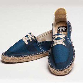 【BSIDED男鞋】Bsided Slam Blue Grid 仿真印刷時尚休閒鞋(藍)
