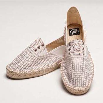 【BSIDED男鞋】Bsided BSD GROOVER DOT WHITE 仿真印刷時尚休閒鞋(白)