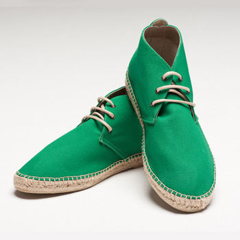 【BSIDED男鞋】Bsided ARCHIBALD MID UK GREEN中筒麻帆鞋(綠)
