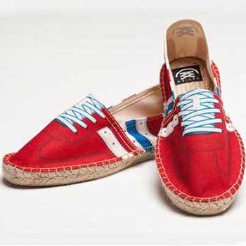 【BSIDED男鞋】Bsided REBORN VINTAGE CLASSIC RED 仿真印刷時尚(紅)