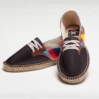 【BSIDED男鞋】Bsided Gump Blue 仿真時尚設計印刷休閒鞋(彩格)