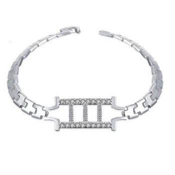 【米蘭精品】925純銀手鍊手環韓版創意個性錶帶