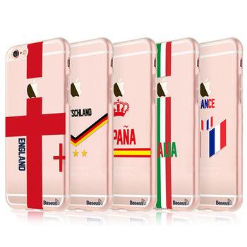 【BASEUS】Apple iPhone 6/6S Plus 球迷 TPU 保護套