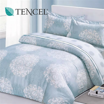 【Alleena】《斯班尼克》天絲加大雙人床包三件組