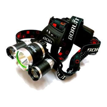 【TrueLight】CREE T6 LED易大師三眼頭燈(RJ3000)