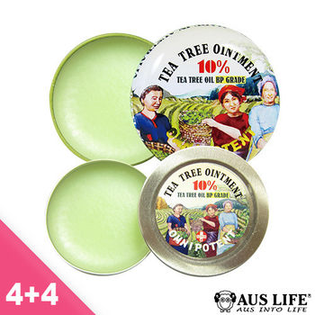 【即期品】澳思萊萬用舒緩神奇茶樹霜(4+4入組)
