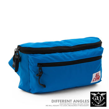 【AJ.亞介】輕量系列 樂活單車包 隨身腰包 單肩包 藍色  (UE8030)