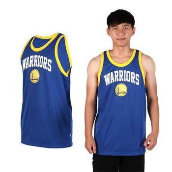 【NBA】金州勇士隊-男圓領背心-籃球  WARRIORS 藍黃白
