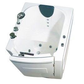 【海夫健康生活館】開門式浴缸 外開 101A標準款 (95*85*100 公分)