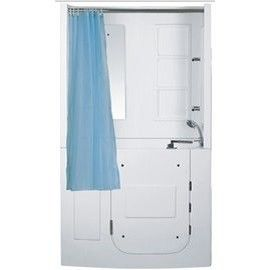 【海夫健康生活館】開門式浴缸 108B-A 基本款 (110*68*205cm)