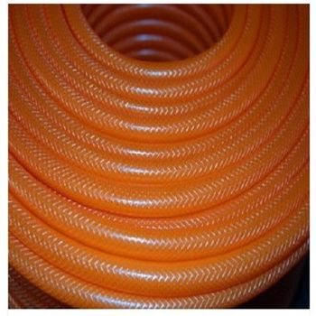 [協貿國際]PVC三層編織桔色4分花園水管 洗車軟管 水槍  可洗車澆花