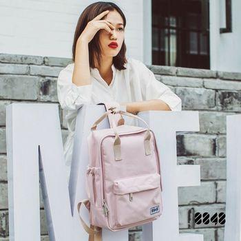 【8848】輕旅行  時尚背包-櫻花紅