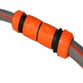 [協貿國際]6分管轉6分水管接頭轉換延長接頭對接軟管連接即插即拔2根管子連接