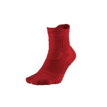 【NIKE】BASKETBALL菁英籃球襪-中筒襪 襪子 紅